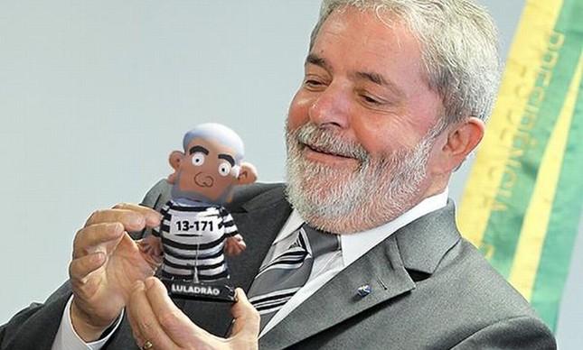 """O próprio """"Lula"""" já foi agraciado com um Pixulequinho"""