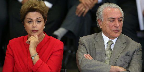 Dilma só aposta nos caciques peemedebistas para demover Temer da ideia de rompimento