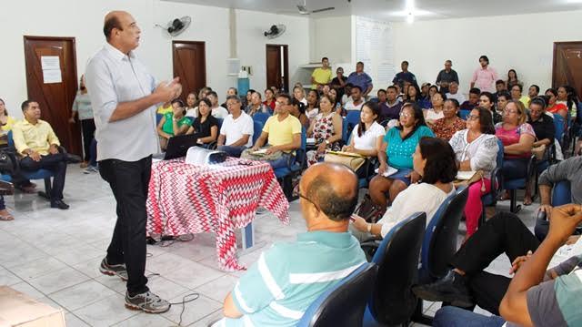 O prefeito Ribamar Alves fala sobre a pauta