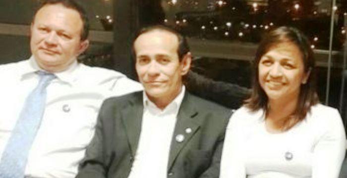Eliziane com a cúpula do PSDB: Itamaraty até aceita, mas Brandão de tudo faz para atrapalhar a aliança...