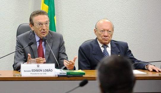 Lobão e João Alberto: votos a favor do impeachment