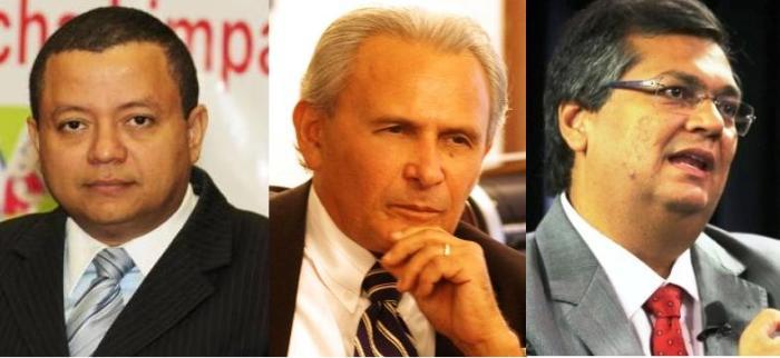 Márlon Reis, Edison Vidigal e Flávio Dino: seduzidos pela Política