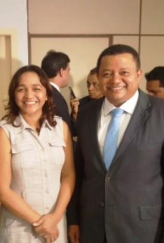 Eliziane Gama e Márlon Reis: ele já é um dos articuladores da campanha