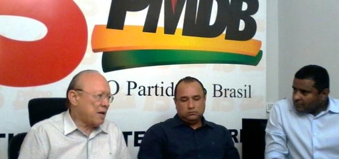 João Alberto e seus pupilos no PMDBV: eleições de Bacabal e São Luís poderiam se interligar