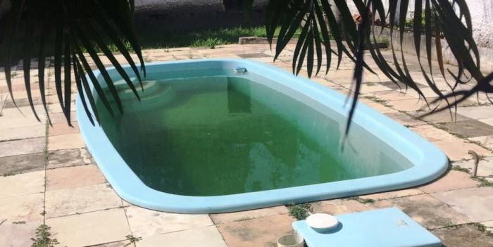 Sem cuidados, até a piscina da casa virou foco do aedes aegipty