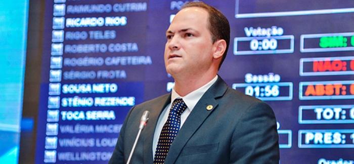 Sousa Neto cobrou o prometido do governo Dino na Asembleia