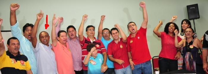 Líder do movimento, Cézar Bombeiro esteve com Flávio Dino e Edivaldo Júnior nas duas últimas eleições