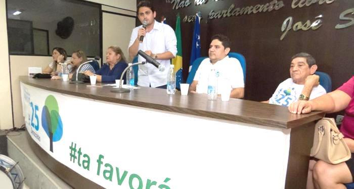 Jucwelino em Chapadinha, na candidatura de Aldy Júnior a prefeito...