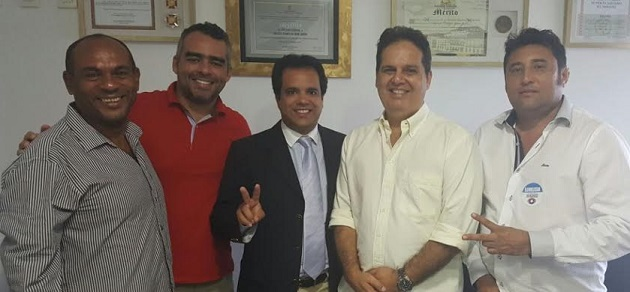 Edilázio Júnior também vai estar na campanha em Paço do Lumiar