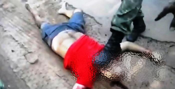 O mecânico foi executado já inerte pelo vigilante que atuava como policial