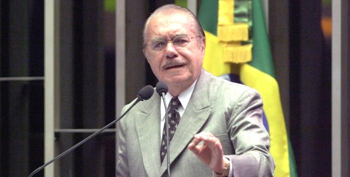 Sarney criticou postura do procurador Rodrigo Janot