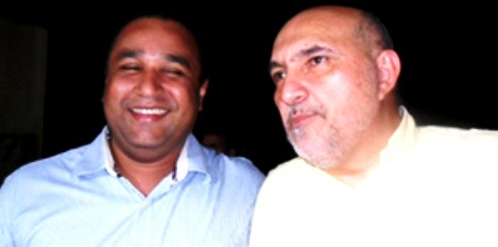Roberto Costa recebeu o primeiro contraponto do amigo Joaquim Haickel