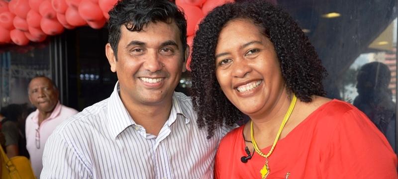 Wellington e Rose já fizeram dobradinhas em outras eleições, que pode se repetir agora