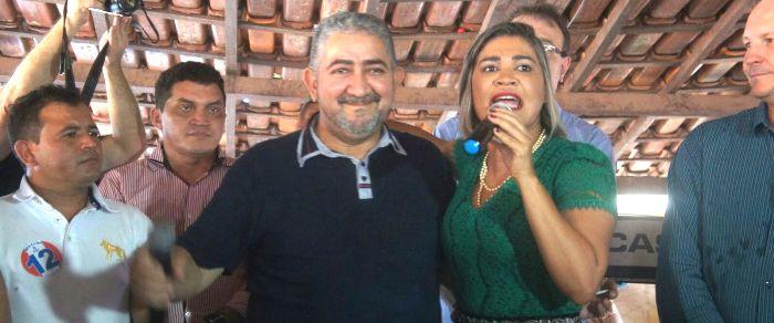 Soares garante apoio do PV à pedetista Rosângela Curado