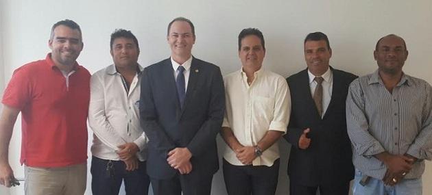 Sousa Neto declarou apoio à candidatura de Gilberto...