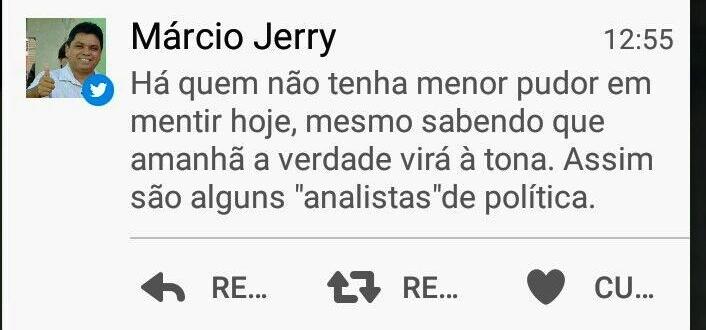 As agressões de Márcio Jerrey: sem arguementos, lugar-tenente de Flávio Dino apenas xinga