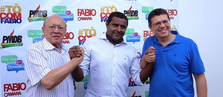 O pré-candidato entre João Alberto e João Marcelo: apoio partidário