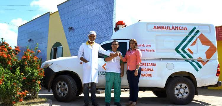 A ambulância que vai servir aos moradores de Peri