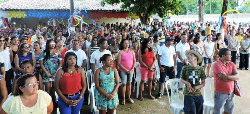 Presença da população ratificou a aliança como boa para o município