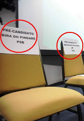 As cadeiras vazias de Bira do Pindaré e Edivaldo Jr.