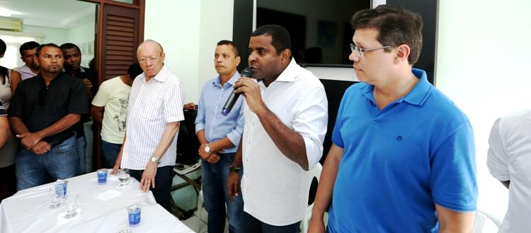 Avalizado por João Alberto, Câmara fala à sua chapa de vereadores: em busca do vice