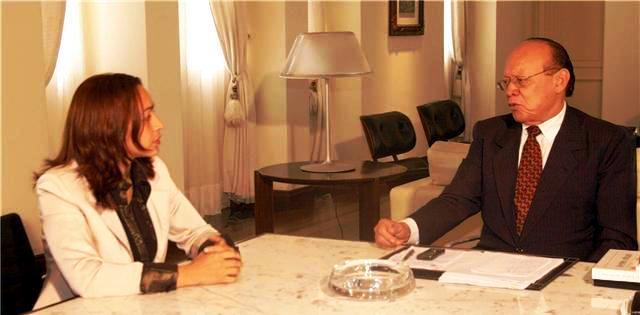 Eliziane com o senador: mais uma reunião infrutífera