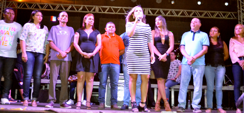 Primeira-dama e secretária de Cultura, Patrícia Linhares, fala do sucesso do São João de Bacabeira