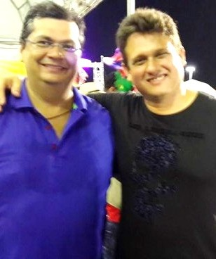 Flávio Dino, o chefe, com Oliveira, o MAO