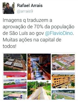 Assessor de Jerry divulga em massa obras criticadas em São Luís