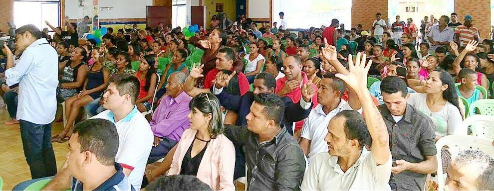 Centenas de cidadãos participaram do evento do PTN