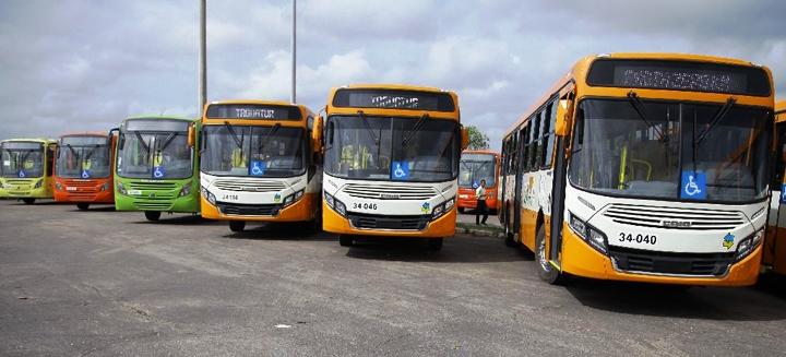 ônibus novos estão impedidos de serem usados na capital