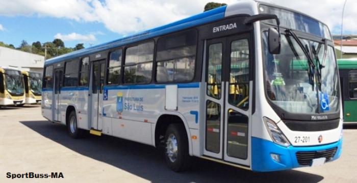 ônibus com novo layout de São Luís: pronto em janeiro, antes mesmo da licitação
