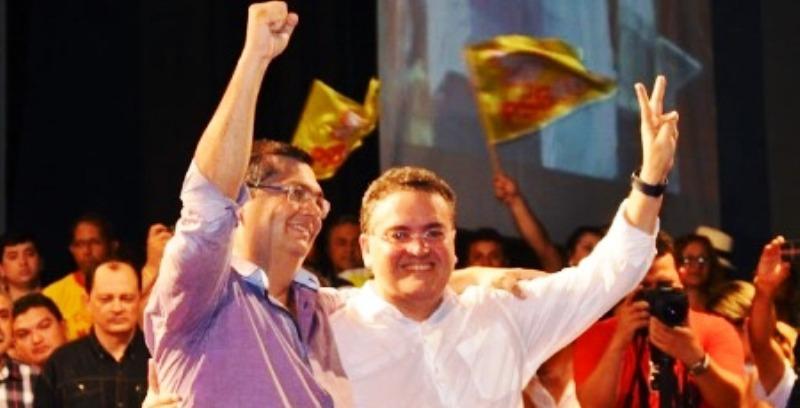 Flávio Dino e Roberto Rocha: tolerância para evitar fissuras