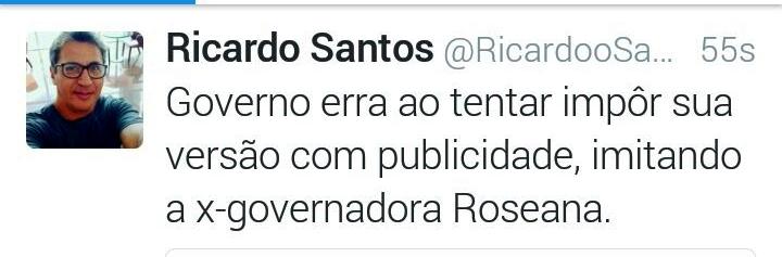 Ricardo Santos ensina: não adianta forçar a barra