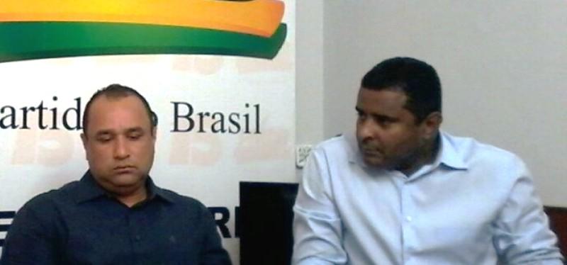 Roberto Cota e Fábio Câmara: ex-inimigos agora reconciliados