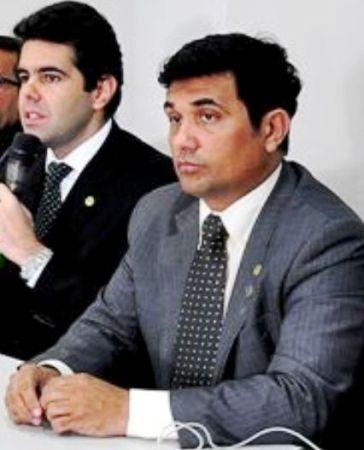 Adriano Sarney com Wellington: parceria