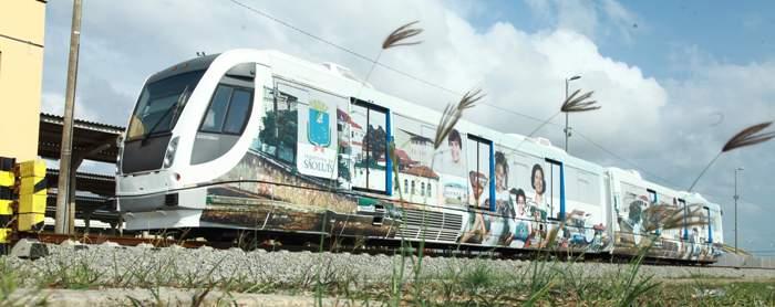 VLT chegou com pompa e circu8nstância para ser a estrela do transporte em São Luís...