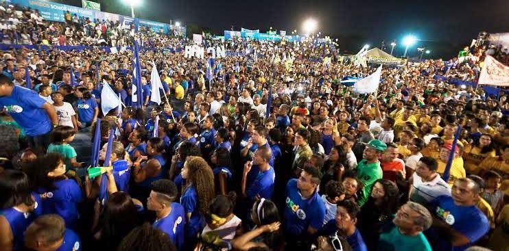 Milhares de timonenses participaram da festa do PSD