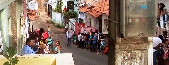 No Lira, Câmara fez tomadas ao lado de amigos e familiares