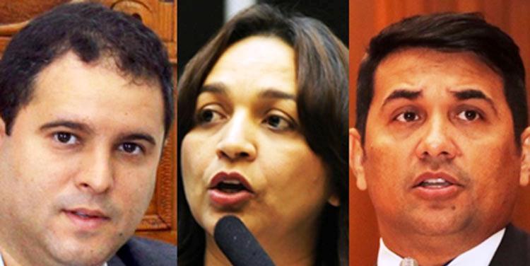 Edivaldo, Eliziane e Wellington: vencerá quem tiver a experiência incontestável e a confiança do eleitor