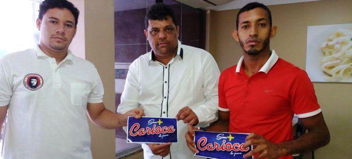 Carioca entre o motenses: apoio de peso na torcida rubro-negra