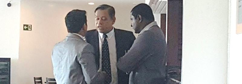 Fábio Câmara com Wellington do Curso, em recente encontro promovido por Bentivi