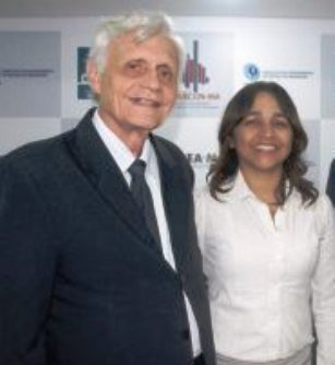 José Joaquim com Eliziane: apoio da base