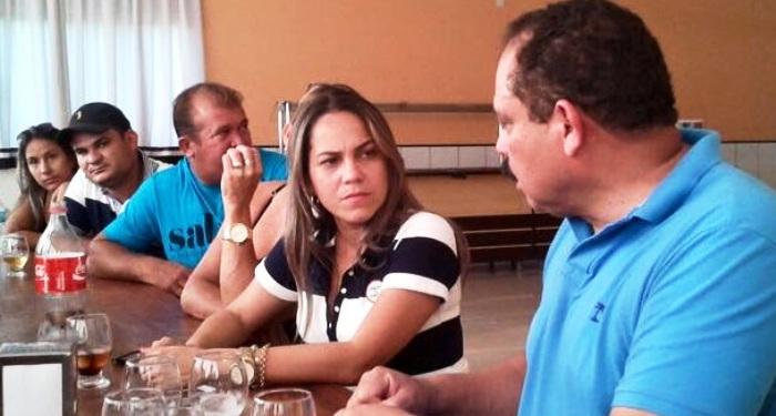 França do Macaquinho é a candidata de Waldir Maranhão em Santa Luzia
