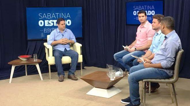 Edivaldo respondeu às perguntas dos jornalistas de O Estado