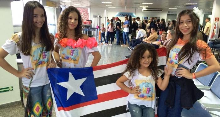 Eleonora, Ana Clara, Elisabeth e Lumena a caminho do Mato Grosso do Sul...
