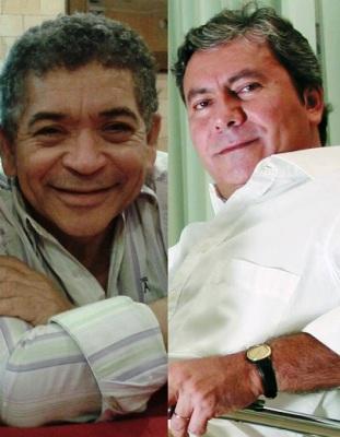 Machadinho DataM e Evilson, marqueteiro do prefeito; parceria