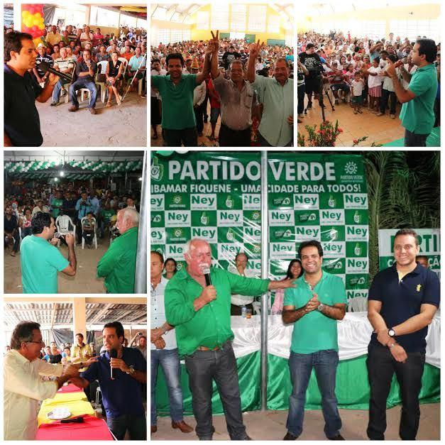 Edilázio esteve em diversas convenções no interior, com apoio a vários candidatos