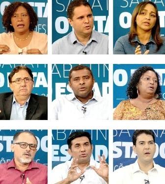 A sabatina O Estado foi a primeira a colher dos candidatos as suas impressões da cidade