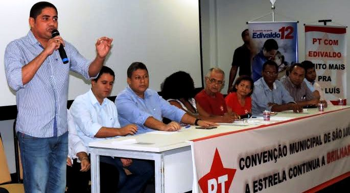 Em São Luís, Inácio e o PT vão com Edivaldo Júnior